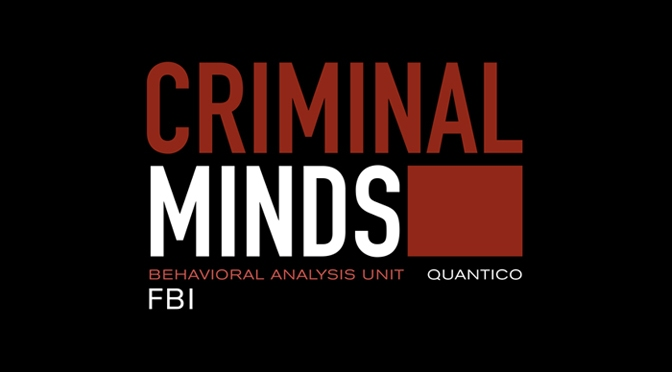 Opening credits of Criminal Minds